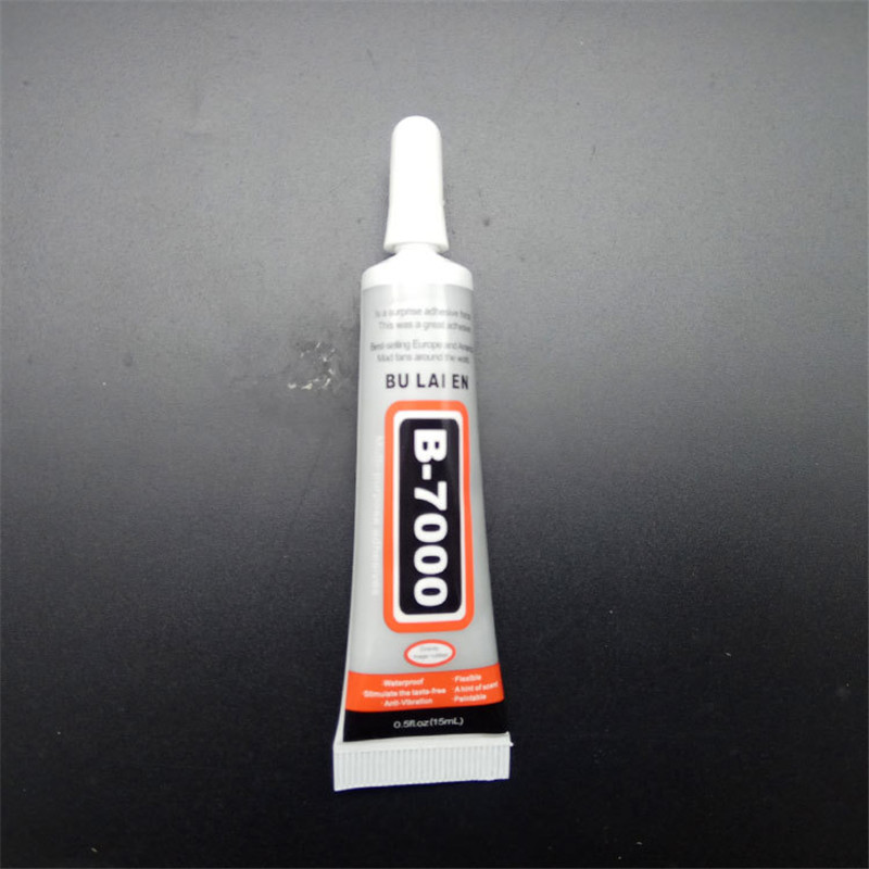 B7000 Glue 15ML Multipurpose Super Liquid Adhesive DIY Jewelry Rhinestone Crafts Phone Frame Screen Glass B-7000 Glue Nail Gel