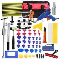 PDR Tools Paintless Dent Repair Tools Dent Removal Dent Puller Tool Kit Reflector Board Puller Tabs Glue Gun Ferramentas