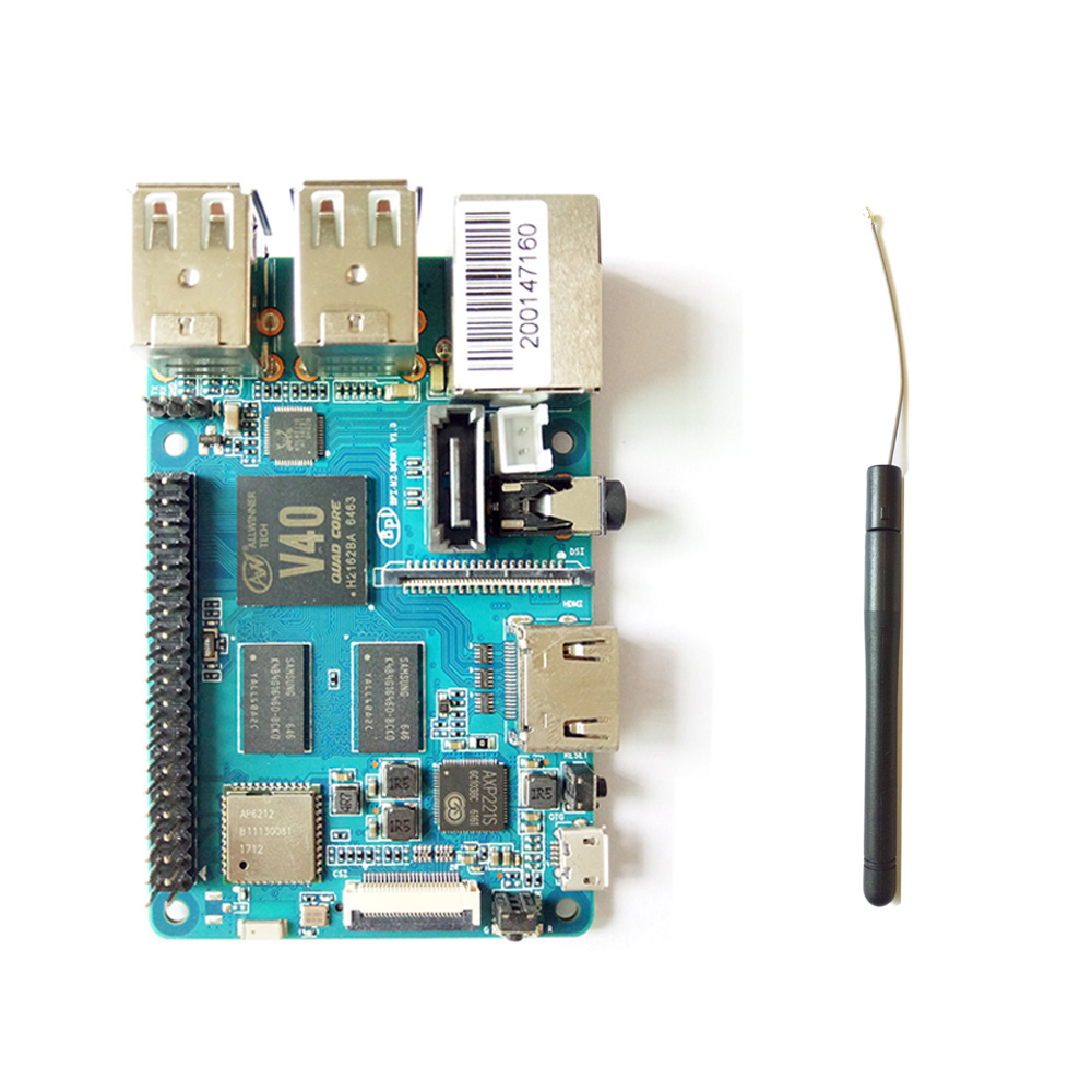2gb of ram octa core bpi m3 banana pi m3 single board computer&development board with emmc wifi bt module on board Banana Pi BPI M2 Berry Dual core Mali 400 MP2 GPU 1G LPDDR3  Open-source Development Board , Same Size as Raspberry Pi 3