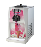LSTACHi 7.2L Desktop commercial soft Ice cream machine, 28 32L/H ice cream maker