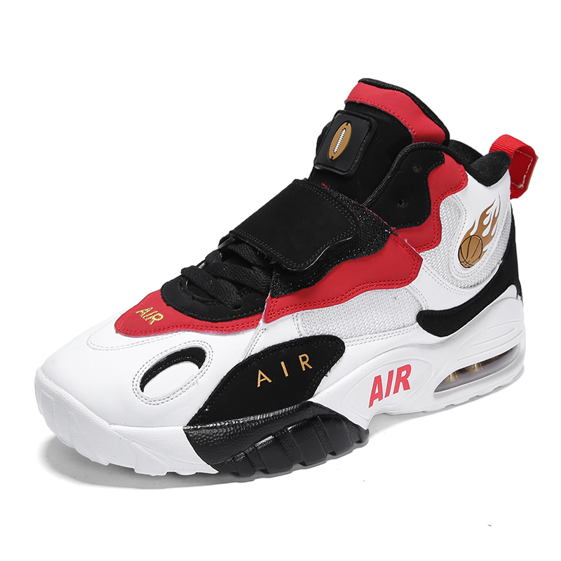 Amortisseurs de hommes de Basket-Ball Air Sneakers Homme Haute-top Jordan Basketball Chaussures Anti Dérapage Respirant Sports de Plein Air Jordan Chaussures
