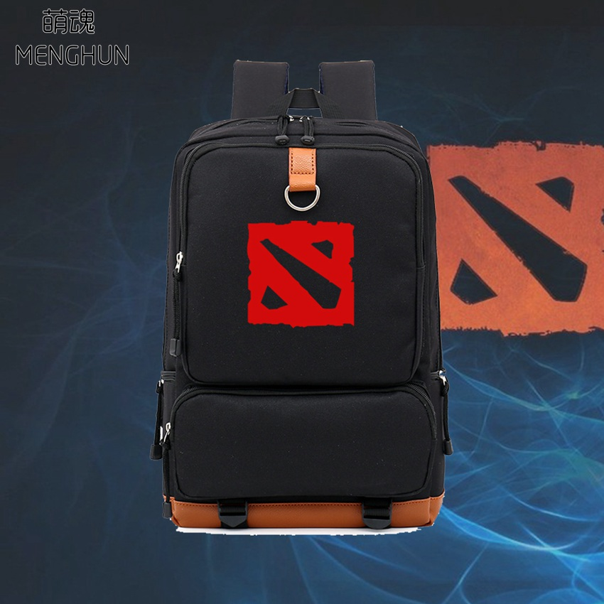 DOTA backpacks high capacity nylon big backpack school bags 15.6 inches laptop backpacks game name DOTA backpacks NB234 men backpack student school bag for teenager boys large capacity trip backpacks laptop backpack for 15 inches mochila masculina
