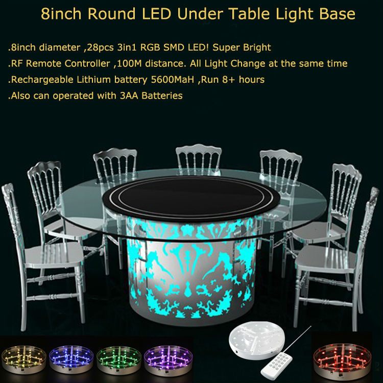 under table Light 8inch