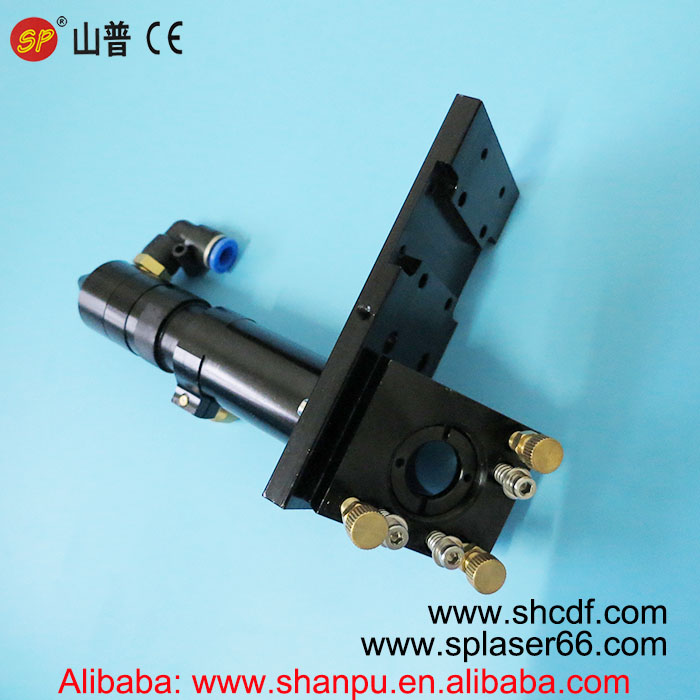 Co2 Laser cutting Head with Air Assist for installing Dia 20mm Lens and Dia 25mm Mirror for Co2 laser cutting machines цена