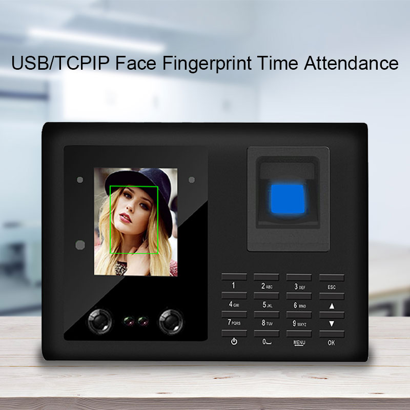 Eseye Face Recognition Biometric Fingerprint Time Attendance System Access Control Attendance Machine