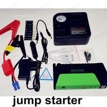 Gran venta de banco de potencia para 12 V coche mini superventas 50800 mAH baterías de coche de arranque salto con bomba booster 2 USB
