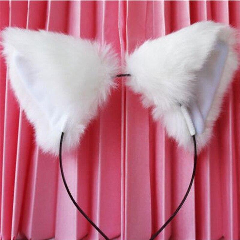 Fur Cat Ears Headband 2