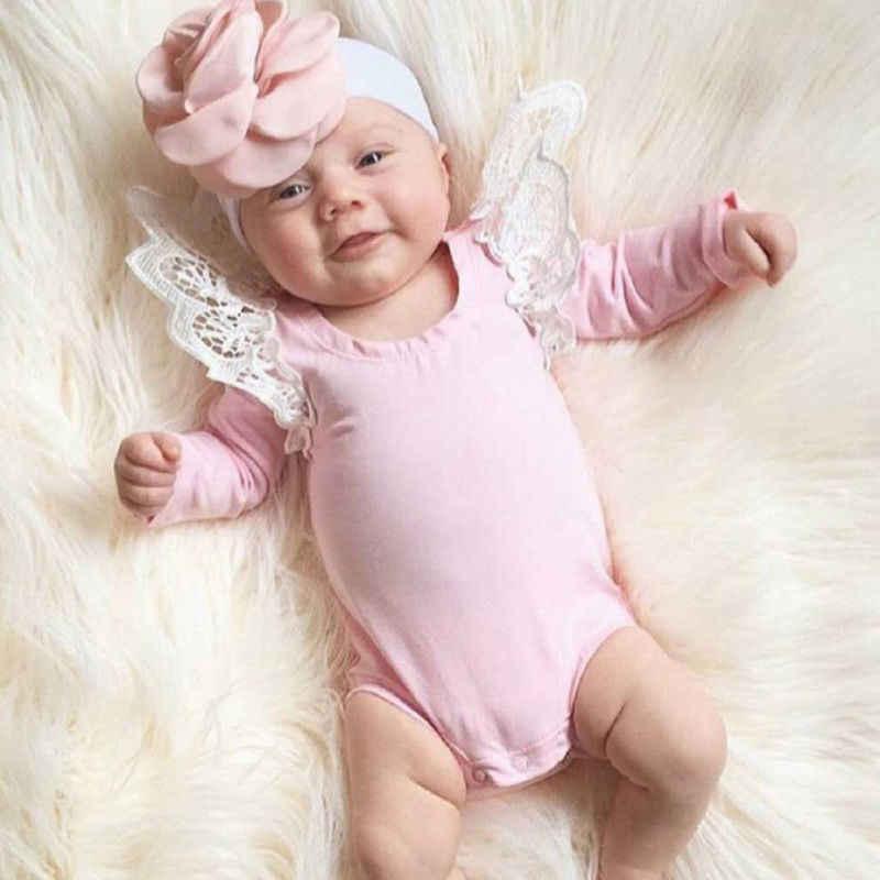 Mono lindo para niña, mono de manga larga para niño, Mono para niños, ropa de otoño, traje rosa para bebé