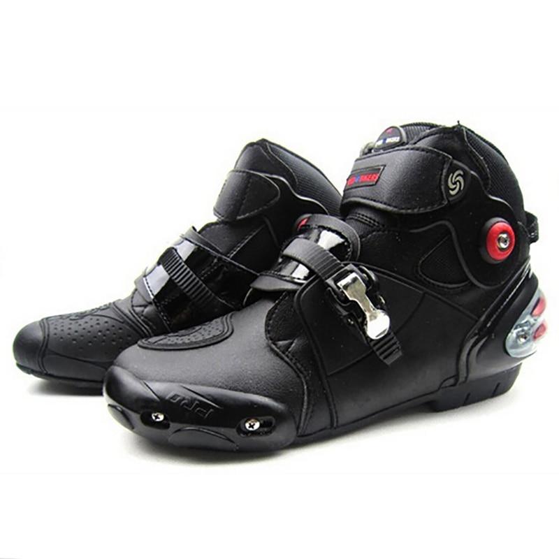 PRO-BIKER Мотоцикл Скутер Boots Қорғаныс Motocross Жарыс Off Road Ботинок SPEED Бикер Protector Ankle Мотоциклдер Аяқ A9003