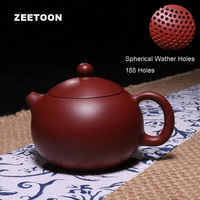 210cc Authentic Chinese Purple Clay Yixing Teapot Kung Fu Tea Set All Handmade Ceramic Red Pottery Dahongpao Boutique Xishi Pot