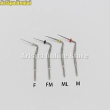 Aiguilles de pointe chauffées par stylo dentaire de 4 couleurs pour le système sans fil de Gutta Percha dendo dobturation de racine endodontique