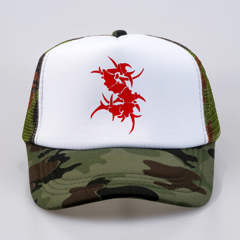 d759a9c63ba SEPULTURA Metal Rock Band Baseball Caps Summer Men Women Printed ...