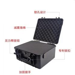 Plastica Toolbox Sigillata Scatola Impermeabile Cassetta Degli Attrezzi Scatola di Immagazzinaggio Scatola di Protezione di Sicurezza Aerea strap con spugna Box Strumento