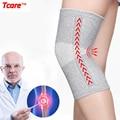 Tcare 1 пара теплые эластичные суппорт колена из дышащей ткани Brace Bamboo волокно здоровье и гигиена наколенник Весна Stay наколенники - фото