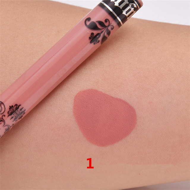 15 Colors Sexy Lip Gloss Matte Liquid Lipstick Waterproof Long Lasting Maquiagem Batom