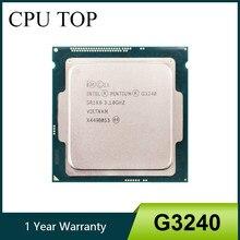 Processador intel pentium g3240 lga1150 3.1 ghz l3 3 mb duplo-núcleo sr1k6 sr1rl cache cpu de mesa