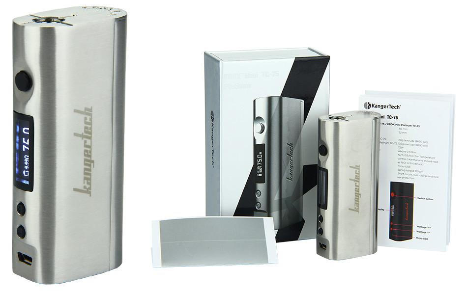 75W Kangertech KBOX Mini TC MOD WO Battery  1