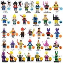 Dragon Ball Z Resurrection F Virus Wish Goku Ssjdios Freeza Vegeta Son Goku Broli Figure Building Block Toy compatible with lego(China)