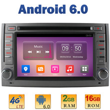 6.2″ Quad Core 2GB RAM 4G LTE SIM WIFI Android 6.0 Car DVD Multimedia Player Radio Stereo For Hyundai H1 Grand Starex 2007-2015