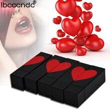 2017 Makeup velvet lipstick long lasting moisturizing lipstick cosmetic heart love retro velve lip gloss maquiagem 807 cosmetic charming moisturizing lipstick red