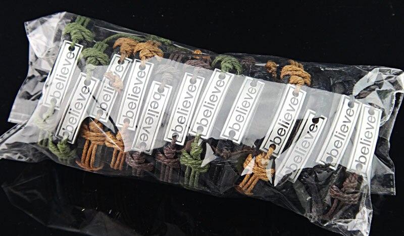 Бижутерия оптом 12 шт. нации племени ткань конопли кожа Винтаж цинка резьба поверить Браслеты браслет для Мужские Женские A156