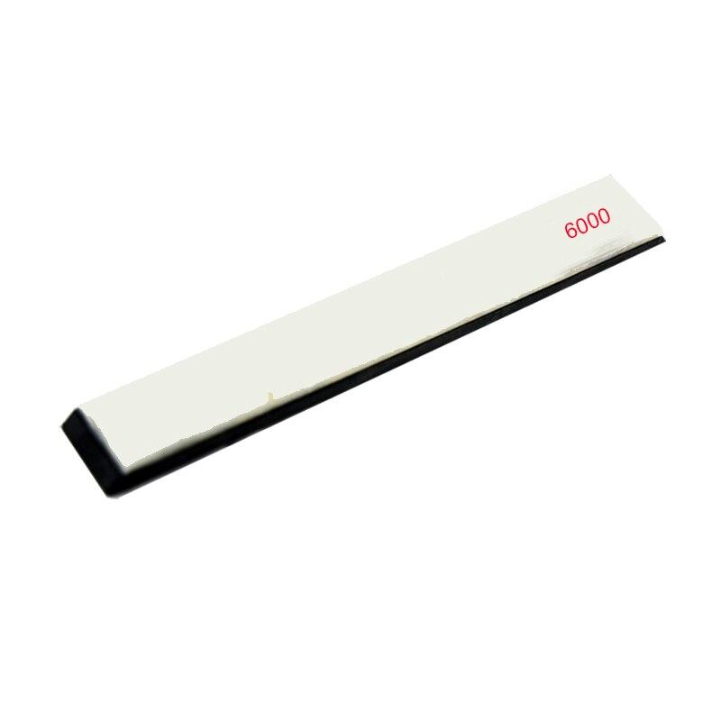 6000# Fine polishing white Agate stone Apex edge sharpener whetstone grinder stone ,water and Oil stone
