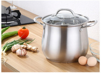 NEW 304 soup pot stainless steel extra high pot double bottom thickening cooker porridge induction cooker universal