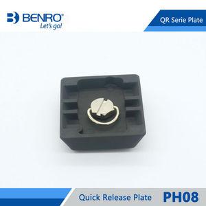 Image 5 - Benro PH08 سريعة الإصدار بلايت المهنية الألومنيوم PH 08 لوحة ل Benro BH0 BH1 HD1 رئيس شحن مجاني