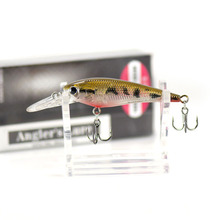 52mm 3.8g Minnow Trout Fishing Hard Bait Fishing Plastic Lures, Countbass Crappie Fishing Bait Shad