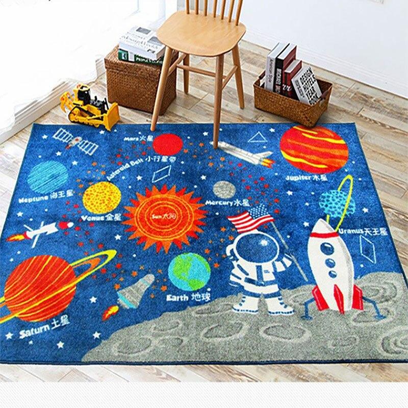 Tapis de jeu de bébé de bande dessinée infantile tapis de salon enfants tapis de chambre à coucher couverture écologique - 6