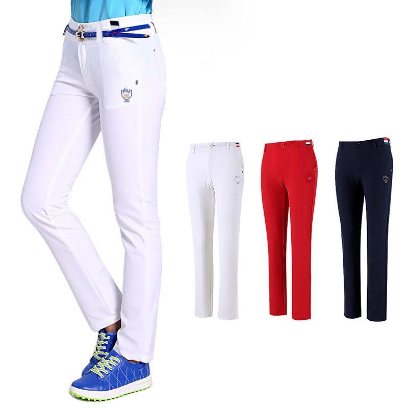 PGM Women Golf Pants Golf Clothing Women Slim Golf Tennis Pant Quick Dry Female Sportwear Outdoor Sports Lady Trousers