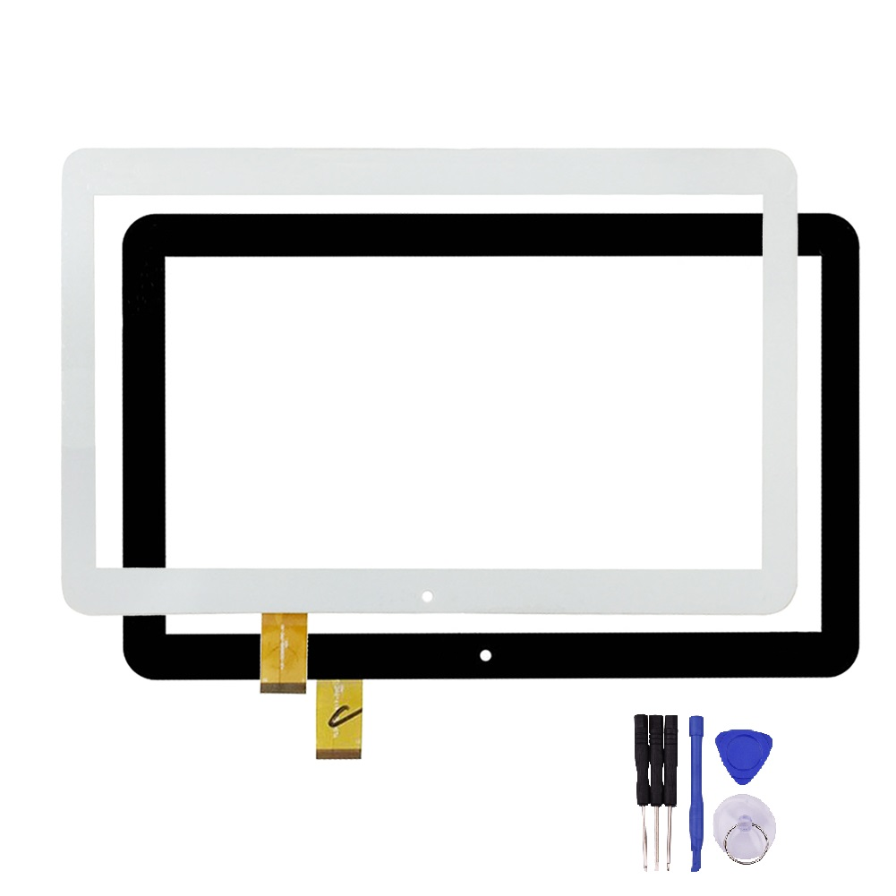 New 101 Inch Black White Touch Screen Yld Cega566 Fpc A0 For Robot Rs170 Stereo Speaker With Led Optima 104 3g Tt1004pg Lens Digitizer Sensor Replacement