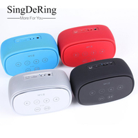 Mini Bluetooth Speaker Protable Touch Screen Stereo Wireless Support NFC TF USB Sound Box Subwoofer Loudspeakers