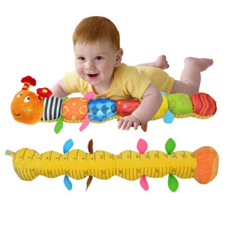 Schattige carpenterworm baby speelgoed voor pasgeboren baby muzikale - Speelgoed voor kinderen