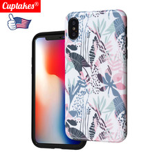 Soft Silicone Case for iPhone X 10 XS Max XR 7 Plus 8 6S 6 Full Cover tropical Art Fashion Colorful Print Sexy Floral Lace(China)