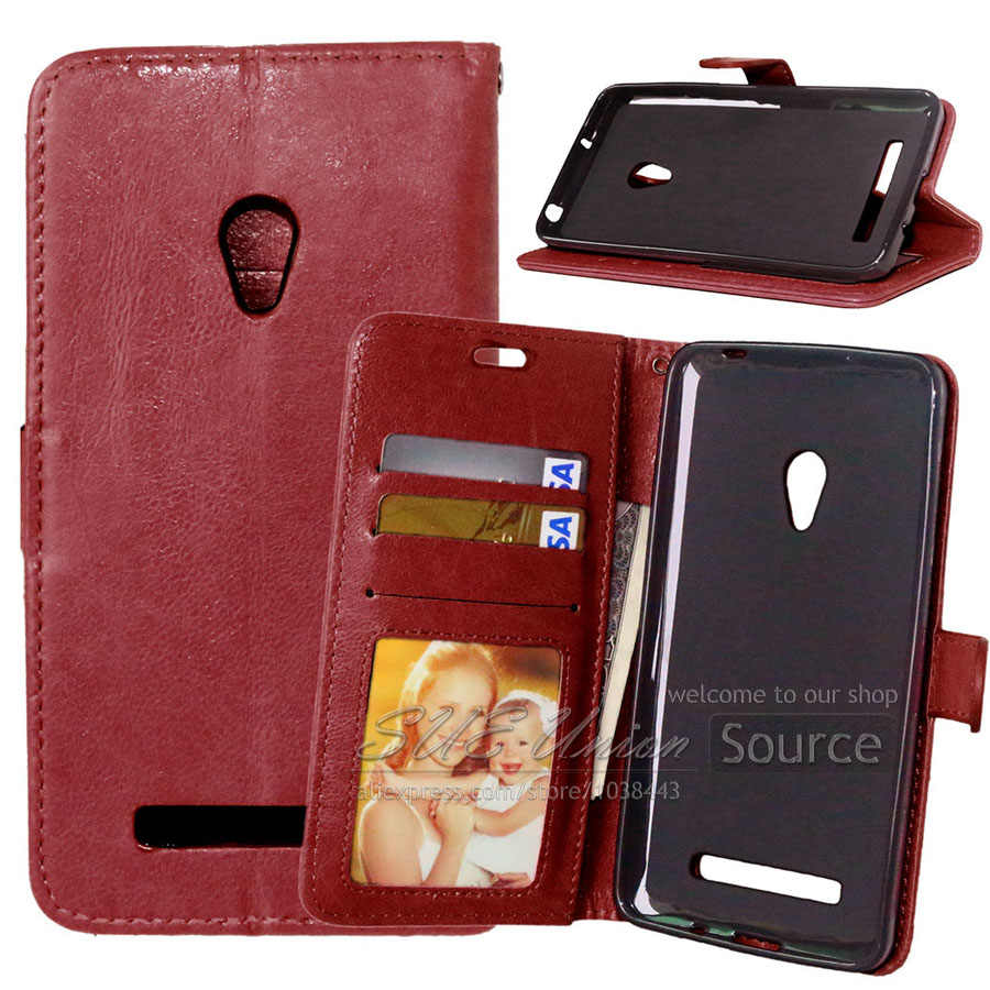 High quality Leather Case For ASUS ZenFone 5 Flip Phone Bag Cover Wallet Style Stand Case Zenphone 5 Zen fone 5 Skin Shell