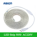 220V SMD 5050 Flexible Led Strip Light 1M/3M/4M/5M//8M/9M/10M/12M/15M/20M/25M+EU Plug,60leds/m IP67 Waterproof Led Strip