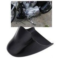 Brand New Gloss Black Chin Fairing Front Spoiler For Harley Davidson Sportster 883 XL1200 2004 2014