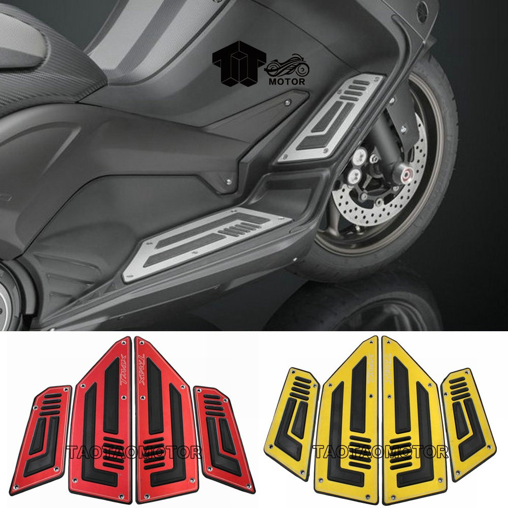 Image 4 - Motorcycle Footboard Steps Motorbike Foot For YAMAHA TMAX530 TMAX 530 T MAX 530 2012 2013 2014 2015 16 Footrest Pegs Plate Pads-in Foot Rests from Automobiles & Motorcycles
