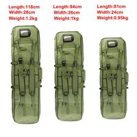 Tactical Equipment 81CM 94CM 118CM Military Hunting Backpack Airsoft Square Gun Bag Protection Case Rifle Backpack