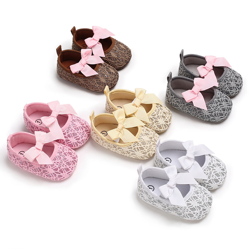 Shoes Soft-Bottom Toddler Autumn Baby Princess Fashion And Lace Female 0-1-Years-Old