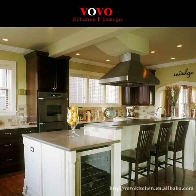 Hot Selling Wooden Kitchen Furniture In Kitchen Cabinets From Home