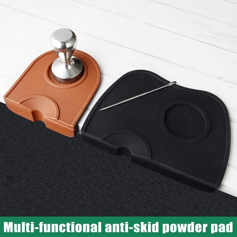 Tamper Mat Coffee Silicone Mat Espresso Tampering Mat Anti-Slip Mat Pad