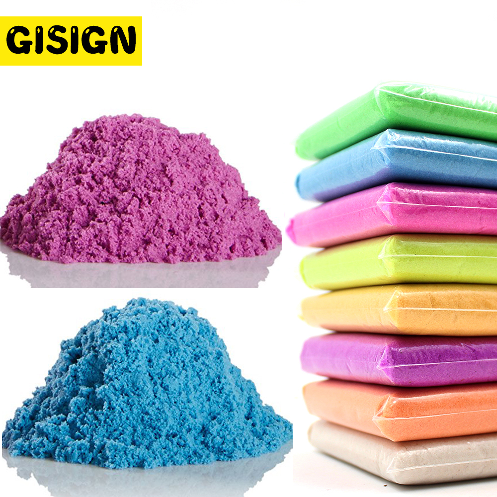 Slime Clay Colored Dynamic Sand Soft Running Funny Space Beach Motion Magic Play Sand Toys For Children 500g