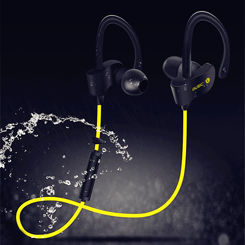 OUTMIX Sport Bluetooth Earphones Wireless Headphones Running Headset Stereo Super Bass Earbuds Sweatproof With Mic