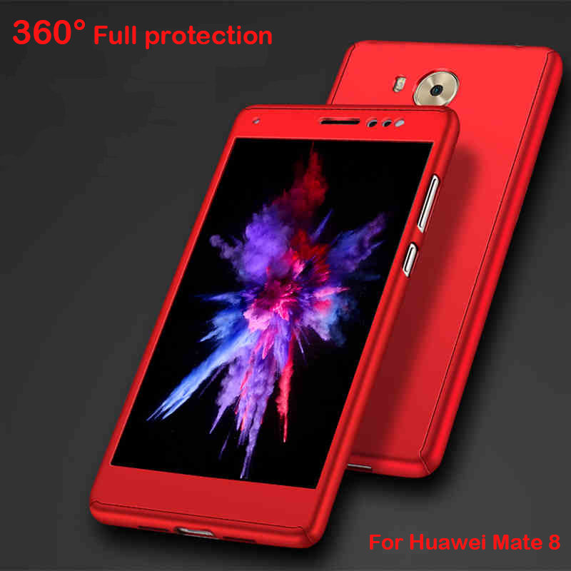sports shoes 834e5 087e7 US $3.99 |Voor Huawei Mate 8 Case, 360 Volledige Bescherming Slim Smooth  Hard Plastic Cover case Voor Huawei mate8 6.0 inch gratis verzending in  Voor ...