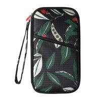Kobiety Moda Długie Projekt Panie Zipper Wallet Wielofunkcyjny Paszportu Posiadacza Telefonu Lady Podróż Torebka Firm
