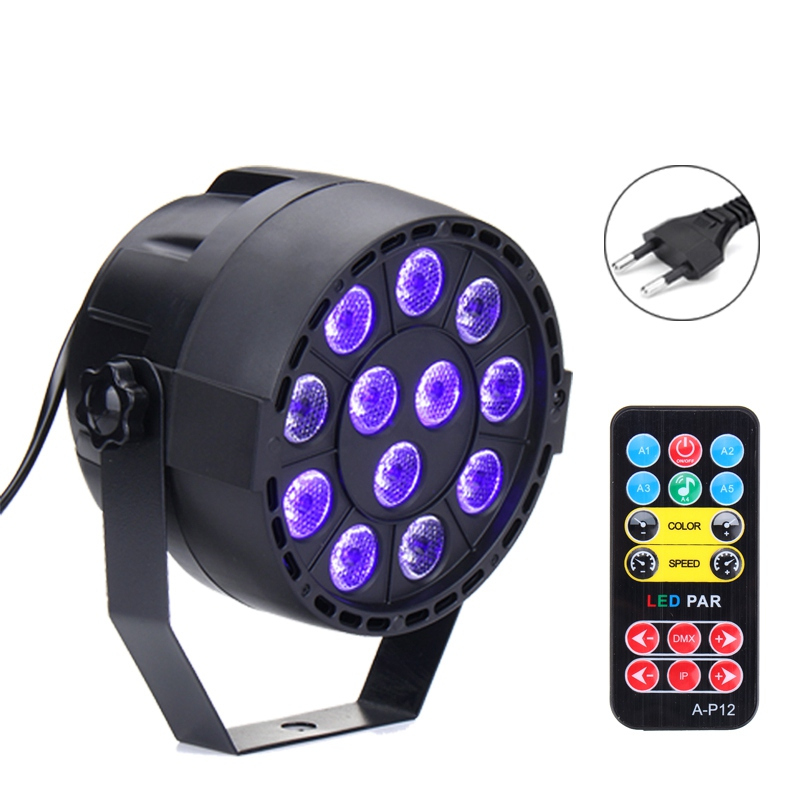 New Arrival LED Stage Light DMX Stage Lighting Effect Par Lamp For Party Disco Club DJ Holiday Christmas Decor Lights Lamp