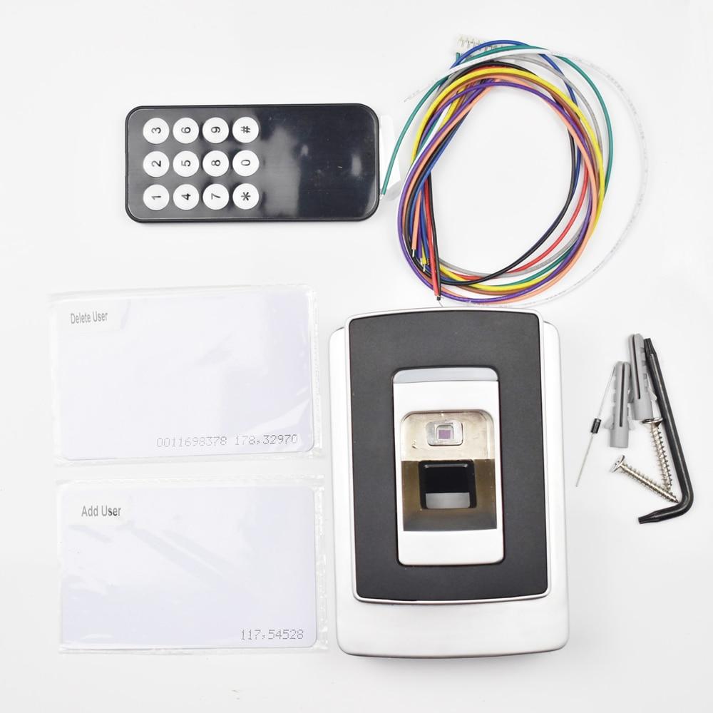 125KHZ ID Card Fingerprint Access Control System Fingerprint and ID carder reader Two in One access control system tripod turnstile gates access card reader circuit board id 125khz