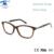 Monturas de Gafas De Alta Calidad de lujo Del Diamante Mujeres Nuevo Diseñador Marco Óptico Eyewear Rx